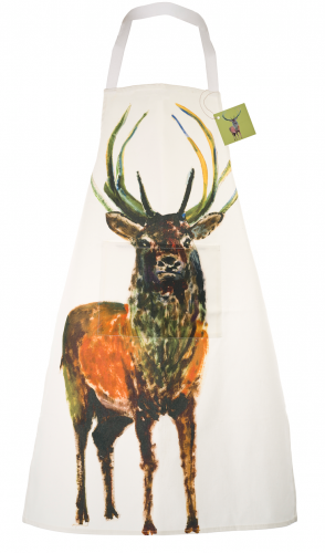 MAGNIFICENT STAG APRON