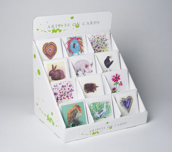 Counter top box for 120 mini greeting cards ctb 01 artists on counter top box for 120 mini greeting cards m4hsunfo